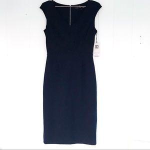 Ivanka Trump Secret Weapon navy dress  size 6 NWT